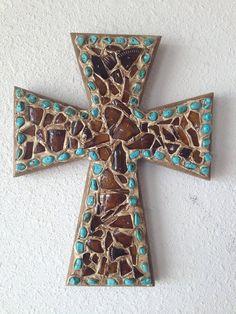 Decorative Wall Cross by MNMHomeDecor on Etsy, $35.00