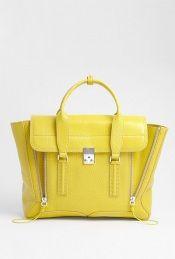 Lemon Yellow Pashli Tote by 3.1 Phillip Lim