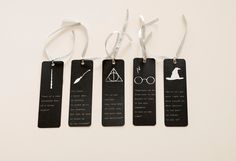 Set of 5 Harry Potter bookmarks, unique bookmark, inspirational bookmark, paper bookmark, Harry Potter quotes by HomeDecorDrawing on Etsy https://www.etsy.com/listing/231410703/set-of-5-harry-potter-bookmarks-unique