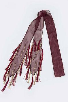 Shoptiques Product: Metal Thread Scarf - main