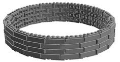 lxf file: Download Ok I'm using technic lift arms to make a semi-rounded castle tower much bigger than any of official LEGO castle panels. Those panels are...