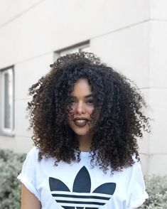 Kinky Curly Clip In Human Hair Extensions Nautral Color Clip-in Full Head 7 Pcs Non-remy Hair Kinky Curly Wigs, Human Hair Wigs, Curly Afro, Pelo Midi, Curly Hair Styles, Natural Hair Styles, Pelo Afro, Pelo Natural, Short Hair Cuts For Women