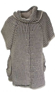 Wow Couture Clothing Crystal Sweater In Taupe
