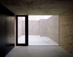 El tabique siempre puede usarse se manera innovadora. Brick House. Caruso St John Architects - Noticias de Arquitectura - Buscador de Arquit...