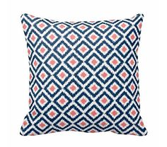 Throw Pillow Case Monogrammed Navy Blue Coral Diamonds Ik... https://www.amazon.com/dp/B01ENDUPZY/ref=cm_sw_r_pi_dp_x_HVDkzbG32J4JW