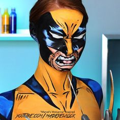 Okay! Here's one on my regular camera, not from my cellular. A recreation of @marvel #wolverine in #comicbook form is now up on @youtube .com/madeyewlook! This was inspired by my trip to @universalorlando  #ilovecomiccharacters #superhero #iwishihadclaws I am so ready for a #comiccon (PS: I literally wish I had claws because I had to use my krueger claws for this )
