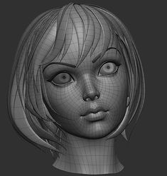 Just for general topology, is a good board to look at 3d Model Character, Character Modeling, Character Design, Zbrush, Low Poly, Face Topology, 3d Human, Human Body, Sculpting Tutorials