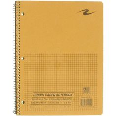 Graph Paper Notebook   CAL STATE FULLERTON ($5.49) ❤ liked on Polyvore featuring home, home decor, stationery and filler