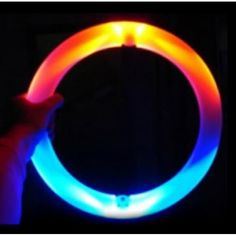 Juggling Ring luminous 35 - Capturethe attention of the audience through these rings of light juggling made ofpolyethylene. Rings, Ring, Wire Wrapped Rings