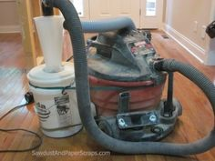 Shop Vac with Cyclone 2 Dust collection system