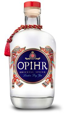 Opihr Oriental Spiced Gin | Made by G&J Distillers (also behind better-known Greenall's), this gin has a fascinating concept behind it. It traces the traditional spice route which led from East Asia through India, Asia and Europe to the UK — a route responsible for the birth of gin in the first place. Botanicals come from each stage of the journey: Indonesian cubeb berries, Indian black pepper, Moroccan coriander, Spanish citrus. The result is a bold, spicy gin that's fragrant, peppery…