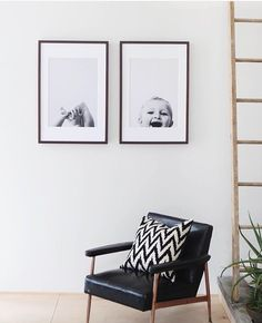 Picture Hanging Guide to Wall Art Photowall Ideas, Home And Living, Living Room, Modern Living, Home Decoracion, Ideas Hogar, Hanging Pictures, Frames On Wall, Framed Wall Art