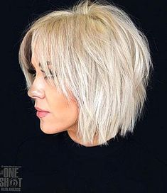 It is safe to say that you are tired of your thin hair failing looking limp and being troublesome Odds are youre simply picking the offbase cuts and styles for your hair type. The correct cut and Short Choppy Haircuts, Short Bob Hairstyles, Hairstyles Haircuts, Latest Hairstyles, Haircut Short, Short Shaggy Bob, Shag Bob, Trending Hairstyles, Fine Hair Hairstyles