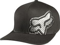 Fox Racing Carbonation Men s Flexfit Outdoor Hat Cap - Black   Large X-Large 6b683f27f76