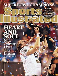 February 15, 2010 - The New Orleans Saints, Superbowl XLIV Champions.