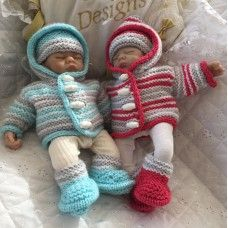 "10"" Doll, Premature Baby #127"