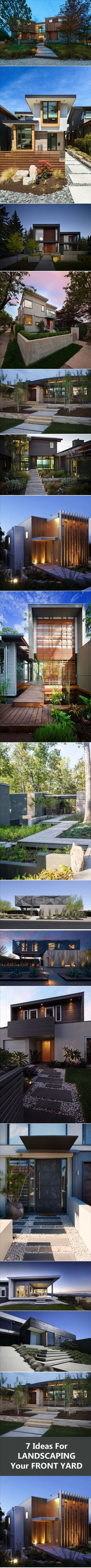 7 Landscaping Ideas For Your Front Yard | CONTEMPORIST