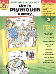 History Pockets - Life in Plymouth Colony