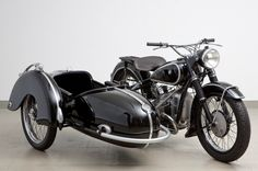 1953 BMW 494cc R51/3 & Steib Sidecar. Beautiful!