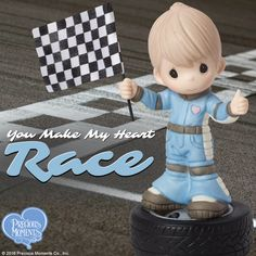 You Make My Heart Race, Bisque Porcelain Figurine, Boy Precious Moments Coloring Pages, Precious Moments Figurines, My Precious, You Make Me, Cute Tattoos, Christmas Wishes, My Childhood, Girly Things, Smurfs