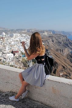 POSTCARDS FROM SANTORINI - #1 FIRA