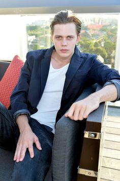Bill Skarsgård - an up and coming actor following in the footsteps of his dad, Stellan, and older brother, Alexander.