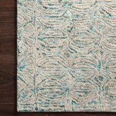 Aqua Rug, Aqua Area Rug, Neutral Palette, Neutral Tones, Coastal Area Rugs, Peregrine, Home Rugs, Colorful Rugs