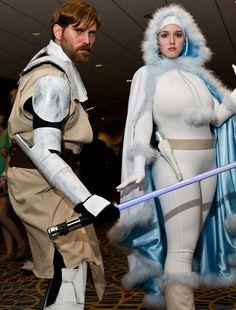 Padme and Obi-Wan (Clone Wars era)