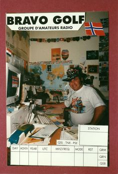 Bravo Golf was a club I also liked to made forskellige Photo QSL private Club are France group