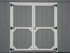 diy shed door out of plywood - Google Search