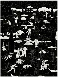 The violent, mesmerizing, and brutally honest work of artist Cleon Peterson. In some paintings demon-like characters are attacking people, in other paintings similar actionsare being carried out by uniformed figures. What is perhaps most disturbingis the realisation thatwe are drawn … Continue reading →
