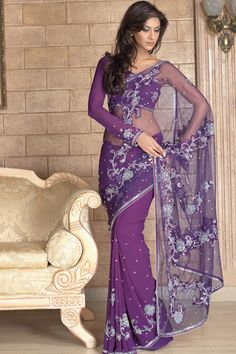 Brand a New Modern Design Splendid Saree | 2012 Sarees