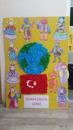 Dünya çocuk günü etkinlik