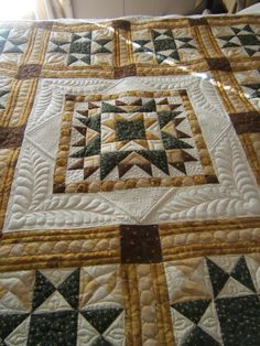 sunflower+stars+025a.jpg - Joy in Illinois - Quilts - Gallery - MQR Forums