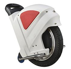 Muzeli Cool High-tech Smart Self Balancing Solo Wheel Wheelbarrow Electric Adult Unicycle Scooter - with Trolley LED Light Driving Range 25km 14 inch (White+Red), http://www.amazon.ca/dp/B00WU64H7E/ref=cm_sw_r_pi_awdl_rfzSvb7PE8C57