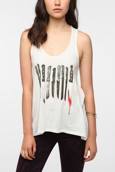 WANT!!!!!!!  Corner Shop Evidence Tank  #UrbanOutfitters