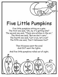 halloween poems for kids - Google Search | Halloween | Pinterest ...