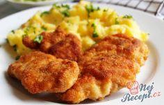 Klasický kuřecí řízek v trojobalu je oblíbeným jídlem snad v každé domácnosti. Přidejte do trojobalu česnek a chutnat Vám bude ještě víc.