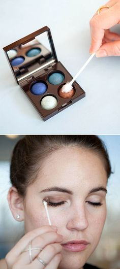 Q Tip Beauty Tricks - Cotton Swab Hacks For Makeup Hair and Skin - Cosmopolitan Natural Hair Mask, Natural Eyebrows, Natural Hair Styles, Natural Beauty, Beauty Tips For Face, Beauty Hacks, Beauty Care, Beauty Secrets, Beauty Products