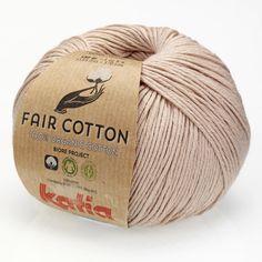 Fair Cotton von Katia, sepiabraun
