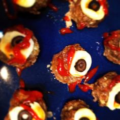 www.Playful-Creations.com: Trick or Treat: Eye Meatballs