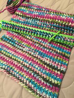 Loom Knit Blanket