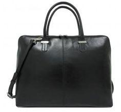 Claudio Ferrici Schultertasche black schwarz Tragegriffe - Bags & more Bags, Fashion, Laptop Tote, Leather Cord, Black, Handbags, Moda, La Mode, Dime Bags