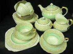 Chelsea deco tea set