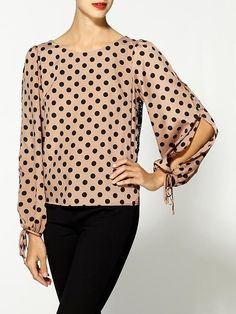 Daisy Blouse With Lace Back