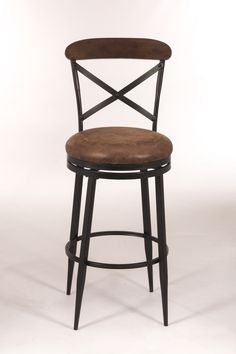 "Henderson 26"" Swivel Bar Stool with Cushion"