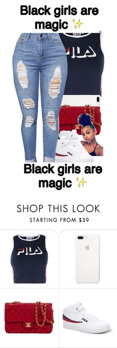 """""""Magic!"""" by trilltommie ❤ liked on Polyvore featuring Fila"""