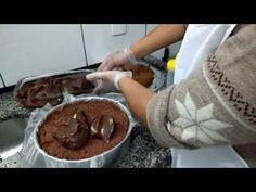 Como montar e prensar bolo de aniversário - YouTube Good Food, Yummy Food, Chocolate Fondue, Indian Food Recipes, Nutella, Deserts, Pudding, Favorite Recipes, Make It Yourself