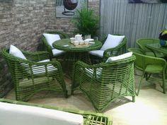 Barato Elegante de café e cadeiras de bambu anti cadeiras de vime varanda ao ar livre ocasional ao ar livre cadeira do pátio de vime móveis de vime ens, Compro Qualidade Conjuntos de jardim diretamente de fornecedores da China: