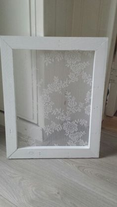 DIY, covered frame to cover a window air condition. Simple, use whatever type of fabric to match your decor. Wood Art, Ramen, Simple, Window, Diy, Type, Cover, Creative, Bricolage